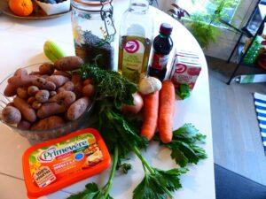 hachis parmentier végétarien aux lentilles